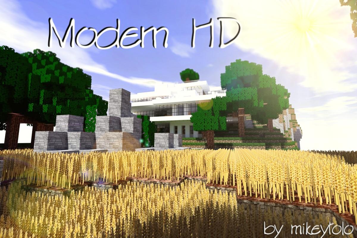 Minecraft Texture Minecraft : Modern HD (1.8.8)