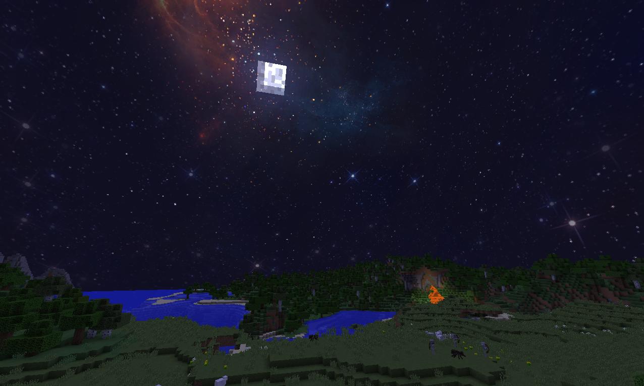 мод на звездное небо для майнкрафт 1.7.10 #4