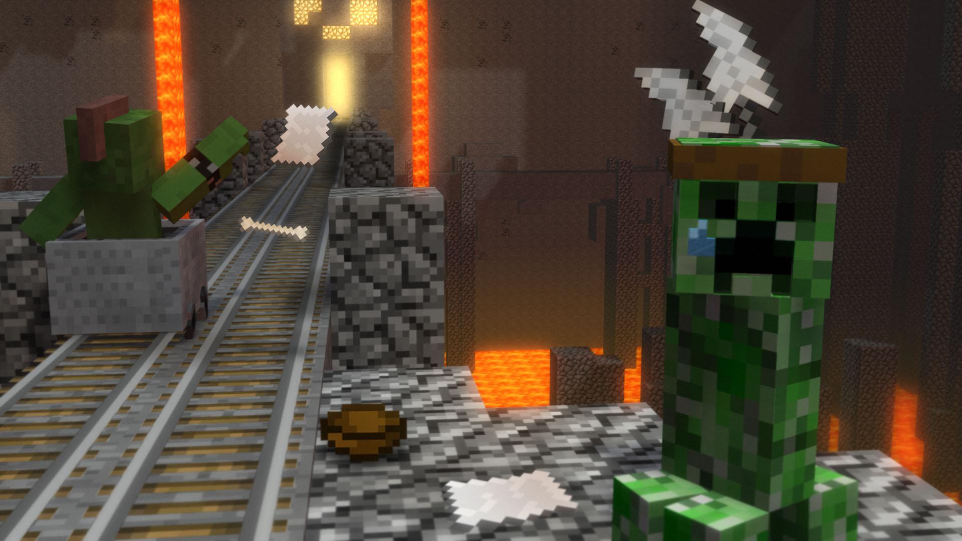 Minecraft Fond Décran Minecraft